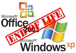 XP and Office 2003 End of Life